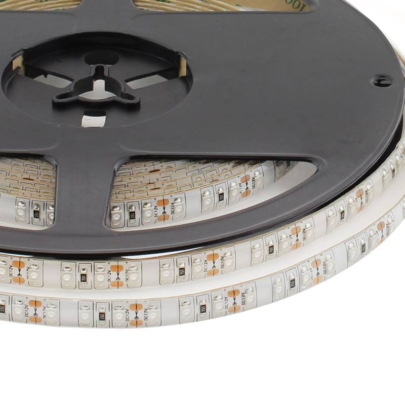 Tira LED UV Ultravioleta SMD3528, DC12V, 5m (120 Led/m) - IP65, Ultravioleta